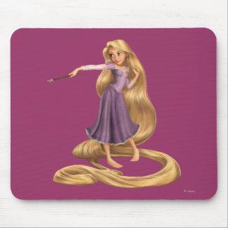 Rapunzel con la brocha 2 alfombrillas de ratón