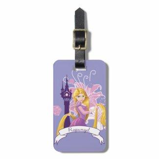 Rapunzel - Determined Bag Tag