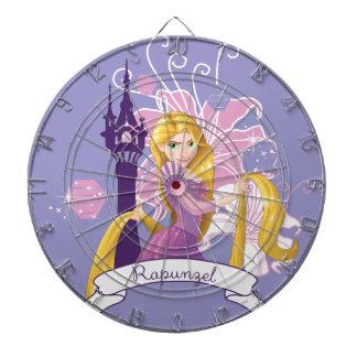 Rapunzel - Determined Dart Board