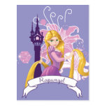 Rapunzel - Determined Post Card