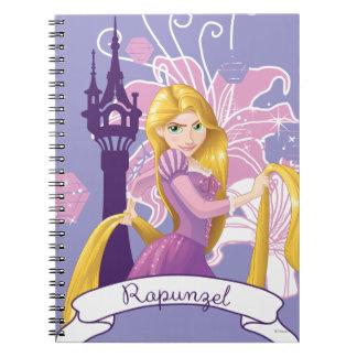 Rapunzel - Determined Spiral Notebook