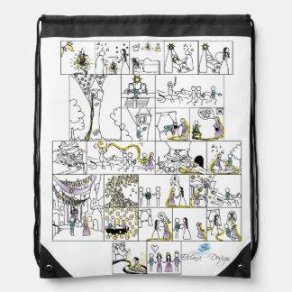 Rapunzel Drawstring Backpack