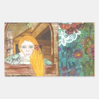Rapunzel, Dreaming Sticker
