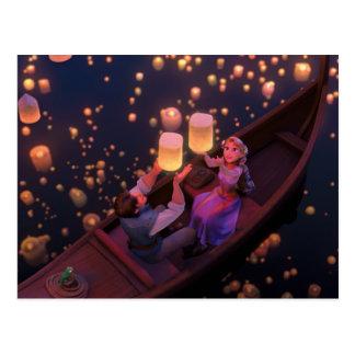 Rapunzel el | hace su propia magia tarjetas postales