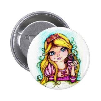 Rapunzel Fairy Tale Dream Button
