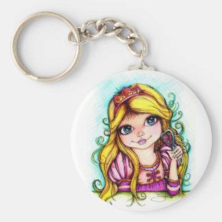 Rapunzel Fairy Tale Dream Keychain