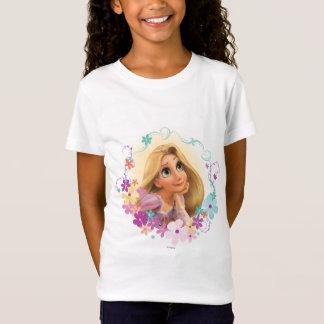 Rapunzel Flower Frame T-Shirt