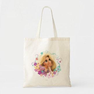 Rapunzel Flower Frame Tote Bag