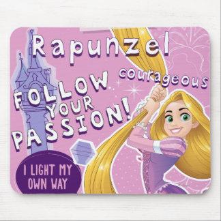 Rapunzel - Follow Your Passion Mouse Pad