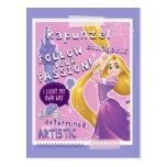 Rapunzel - Follow Your Passion Postcards