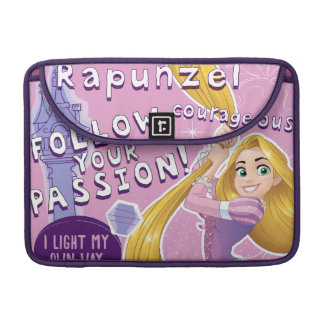 Rapunzel - Follow Your Passion Sleeve For MacBook Pro