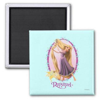 Rapunzel Frame 2 Inch Square Magnet