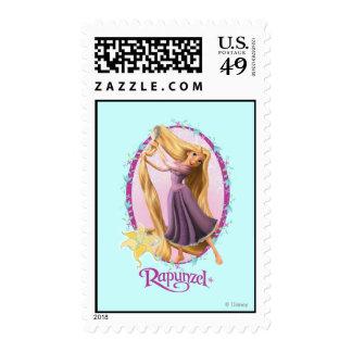 Rapunzel Frame Postage Stamp