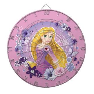 Rapunzel - I Light my Own Way Dartboard With Darts