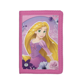 Rapunzel - I Light my Own Way Trifold Wallets