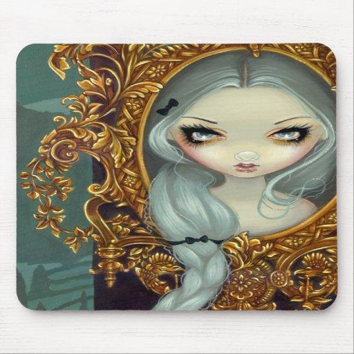 """Rapunzel in Rococo"" Mousepad"