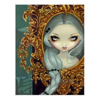 """Rapunzel in Rococo"" Postcard"
