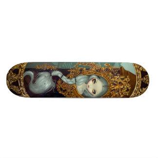 Rapunzel In Rococo Skateboard