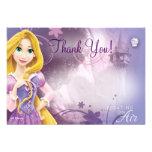 Rapunzel le agradece las tarjetas
