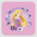 Rapunzel - luz de I mi propia manera Colcomanias Cuadradases