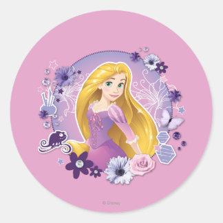 Rapunzel - luz de I mi propia manera Pegatina Redonda