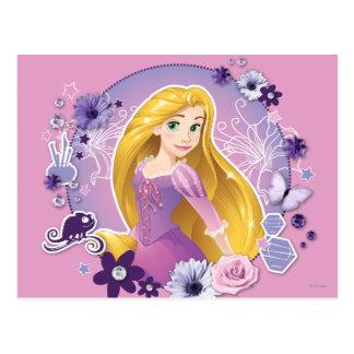 Rapunzel - luz de I mi propia manera Tarjetas Postales