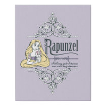 Rapunzel | Nothing Between Me and My Dreams Faux Canvas Print