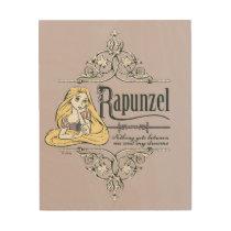 Rapunzel | Nothing Between Me and My Dreams Wood Wall Art