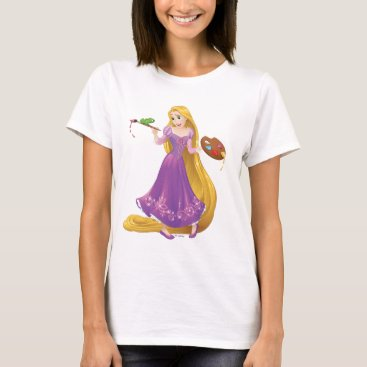 Disney Themed Rapunzel | Painting With Pascal T-Shirt