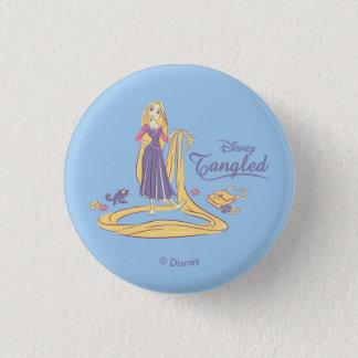 Rapunzel & Pascal Purple Pastels Button