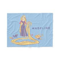 Rapunzel & Pascal Purple Pastels Fleece Blanket