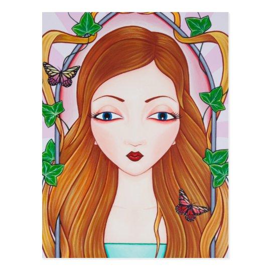 Rapunzel Postcard