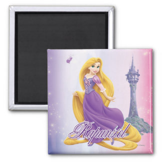 Rapunzel Princess 2 Inch Square Magnet