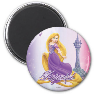 Rapunzel Princess 2 Inch Round Magnet