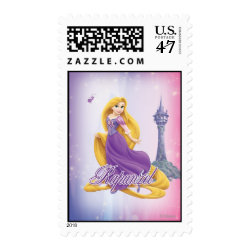 Medium Stamp 2.1' x 1.3' with Tangled's Rapunzel with Tower design