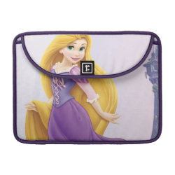 Macbook Pro 13' Flap Sleeve with Tangled's Rapunzel with Tower design
