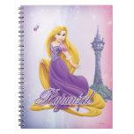 Rapunzel Princess Spiral Notebook