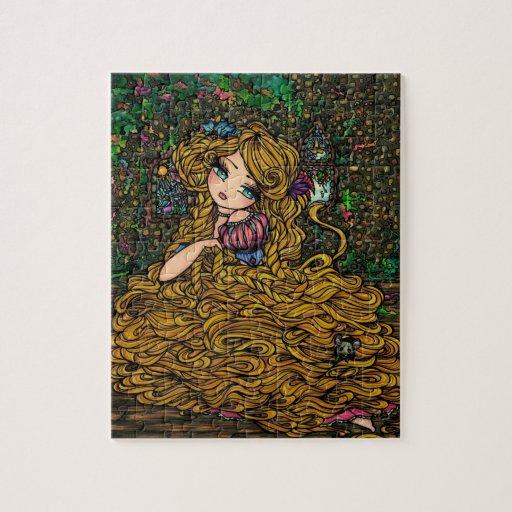 """Rapunzel"" Puzzle Princess Hannah Lynn"