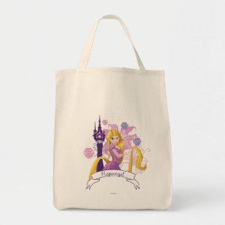 Rapunzel - resuelto bolsa tela para la compra