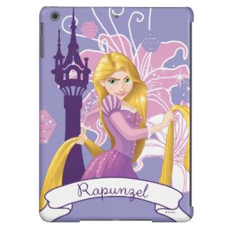 Rapunzel - resuelto funda para iPad air
