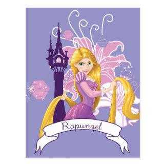 Rapunzel - resuelto postales