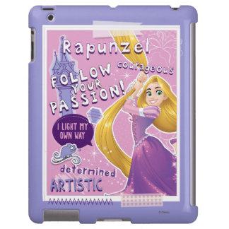Rapunzel - siga su pasión funda para iPad