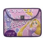 Rapunzel - siga su pasión funda para macbooks