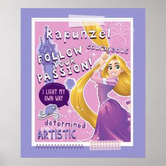 Rapunzel - siga su pasión póster