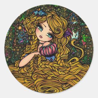 Rapunzel Sticker