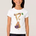 Rapunzel Swinging from Branch 2 T-Shirt
