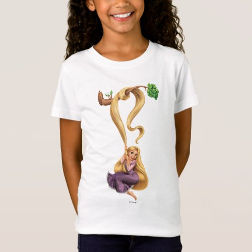 Rapunzel Swinging from Branch 2 T_Shirt