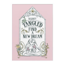 Rapunzel | Tangled - Find a New Dream Acrylic Print