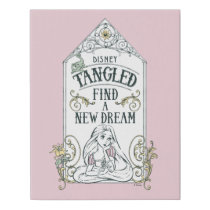 Rapunzel | Tangled - Find a New Dream Faux Canvas Print