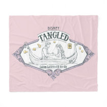 Rapunzel | Tangled Golden Lanterns Fill the Sky Fleece Blanket